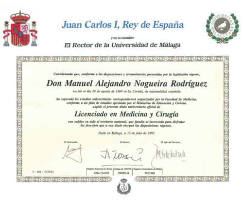 dr alejandro nogueira licenciado en medicina y cirugía