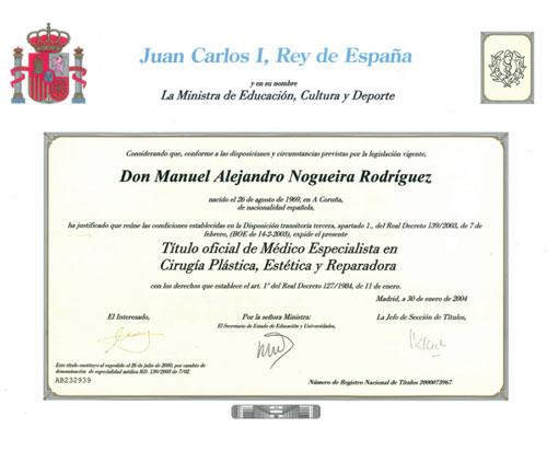dr alejandro nogueira especialista en cirugía plástica