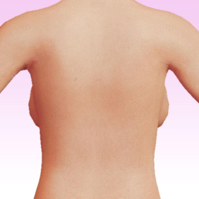 breast detrás