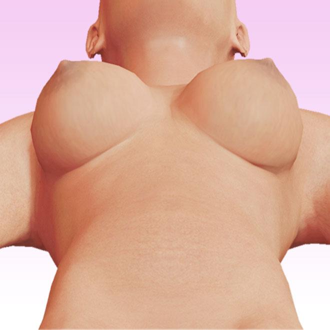 breast debajo