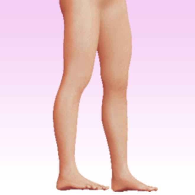 pierna oblicua derecha