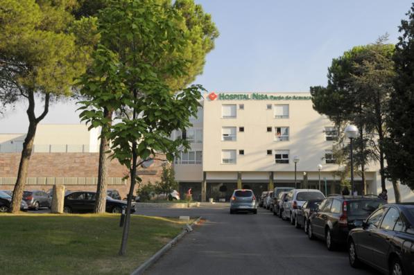 Hospital Nisa - entrada