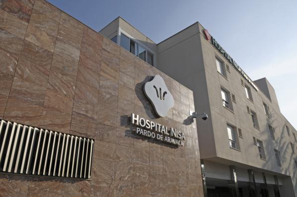 Hospital Nisa - frontal