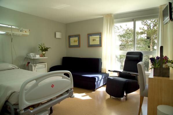 Hospital Nisa - habitación